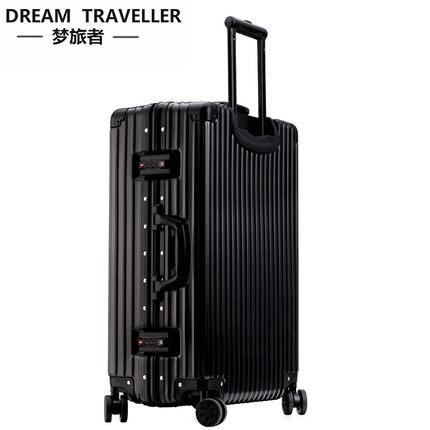 VaLi hành lý  Dream du lịch trường hợp xe đẩy phổ quát bánh xe khung nhôm hành lý du lịch nam vali n