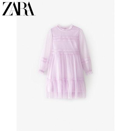 ZARA Trang phục trẻ em mùa hè  quần áo trẻ em mới cho trẻ em mùa xuân và mùa hè vải tuyn mới vải tuy
