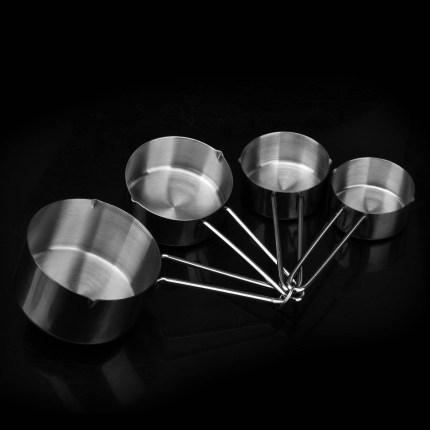 UTSUWA  Dụng cụ đo lường  Dụng cụ đo cốc bốn mảnh dụng cụ đo chính xác bằng thép không gỉ đo muỗng q