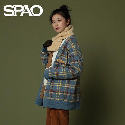SPAO Phong cách Hàn Quốc  của chúng tôi khỏa thân chung áo len đôi len áo len 2019 mùa thu và mùa đô