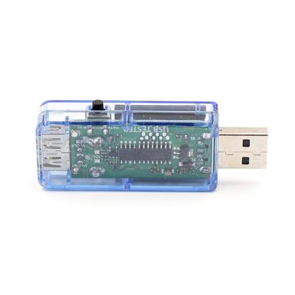 NoFuKcn  Thị trường dụng cụ  Trong suốt màu xanh kiểm tra dụng cụ usb điện áp ampe kế đa năng đồng h