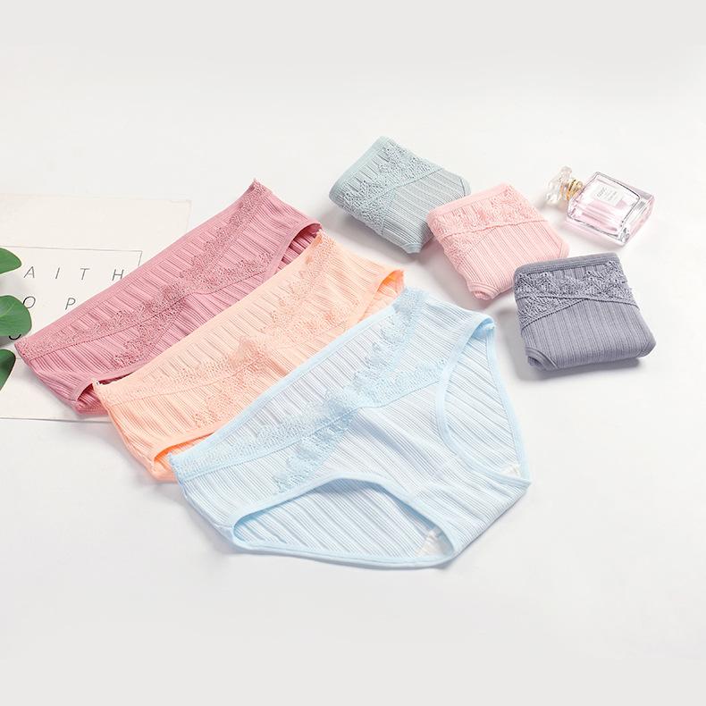 YXSC Quần lót Mang thai dự kiến sẽ trở thành sợi bông đồ lót của phụ nữ mang eo thấp
