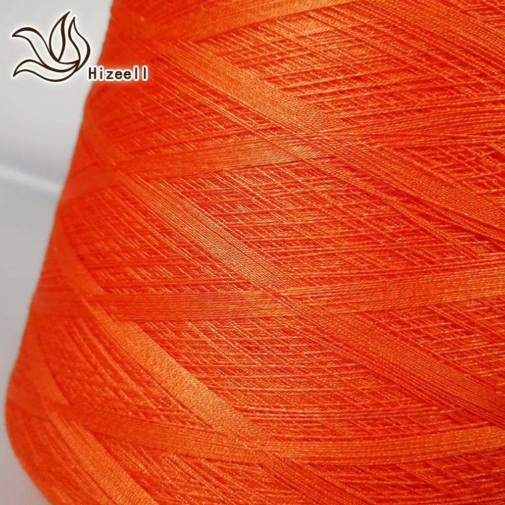 Hizeell Sợi tơ lụa Mùa xuân và mùa hè sợi protein đặc biệt Dâu tằm 68 nhánh 3 sợi 8% Tơ tằm 39% Tenc