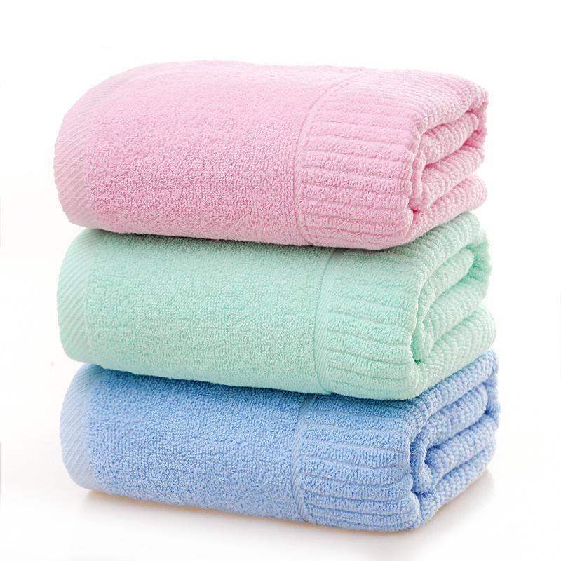 YAOJIN Dệt may gia dụng Nhà máy trực tiếp bán khăn bông trơn cho hộ gia đình thấm mềm công ty quà tặ