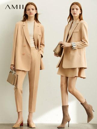 Amii  Đồ Suits  Amii chuyên nghiệp thời trang khí phù hợp với váy phù hợp với nữ 2020 mùa xuân mới k