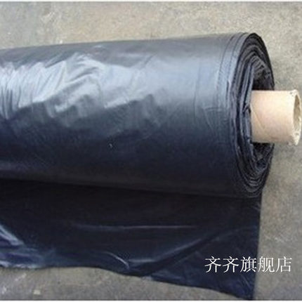Màng che phủ nhà kính Phim nhựa đen làm dày màng nhà kính đổ vải đen Phim đen nhà kính phim đen nông
