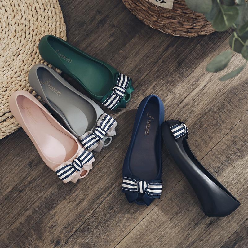 SEWM Giày Loafer / giày lười Giày thạch nữ hoang dã Giày phẳng mùa hè Giày đế xuồng nhập khẩu Giày c