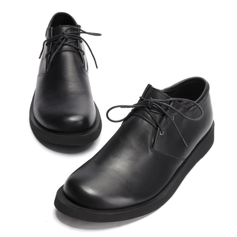 BSRJ thị trường giày nam Giày da nam đơn giản, giày nam bằng da cao cấp, giày đế bằng da