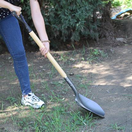 Dụng cụ nông nghiệp Xẻng nông nghiệp xẻng làm vườn công cụ trồng ngoài trời hộ gia đình đào lũ kiểm