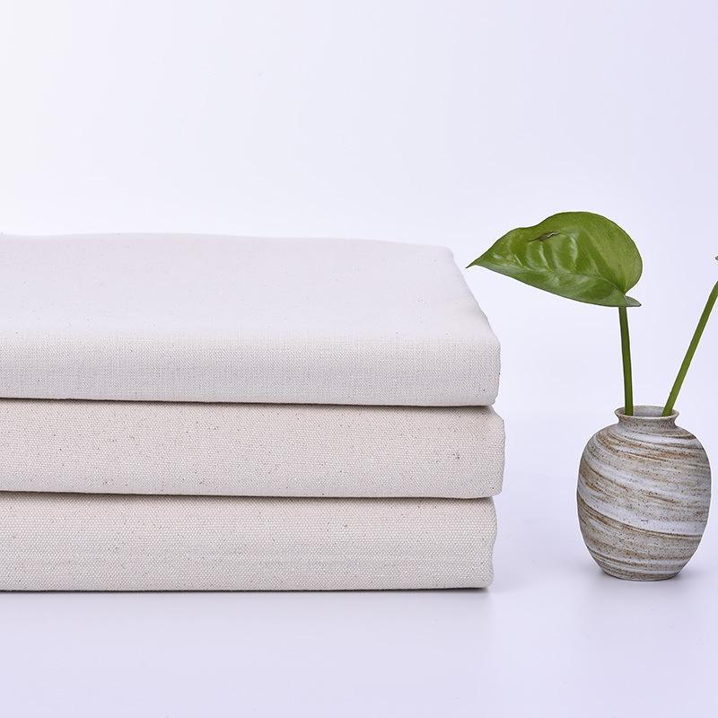 V ải bố Vải thô cũ vải bông phôi dày vải thô vải trắng tấm khăn trải bàn vải bông trắng tinh khiết