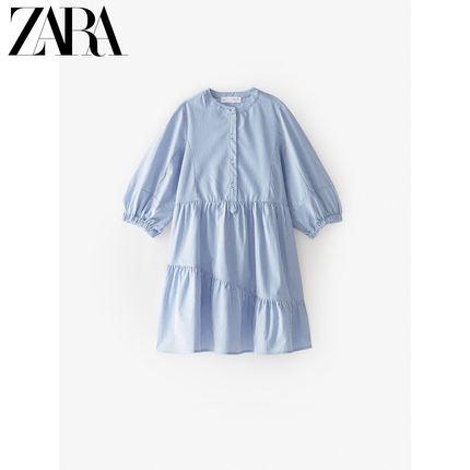 ZARA Trang phục trẻ em mùa hè  quần áo trẻ em mới cho bé gái mùa xuân và mùa hè áo sọc mới 005176104