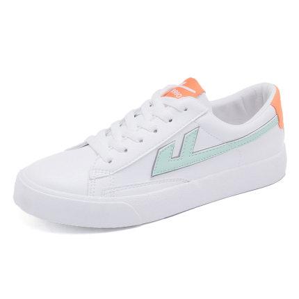 giày vải Kéo lại giày nữ Giày trắng nữ 2020 mùa xuân giày mới Giày nữ thủy triều giày hoang dã cửa h