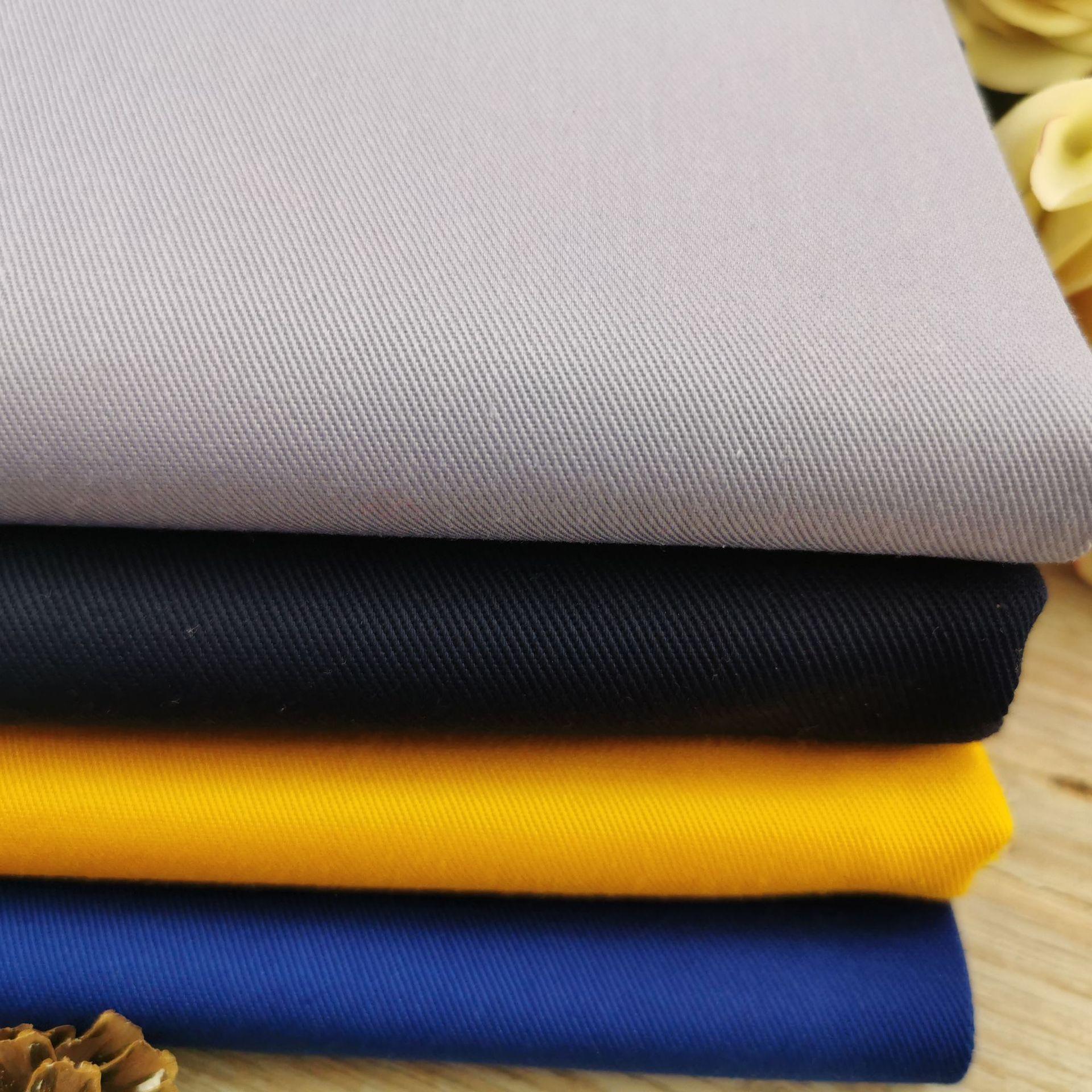 SHENGBIXIANG Vải cotton pha polyester Nhà máy bán hàng trực tiếp polyester / bông pha vải TC mall si