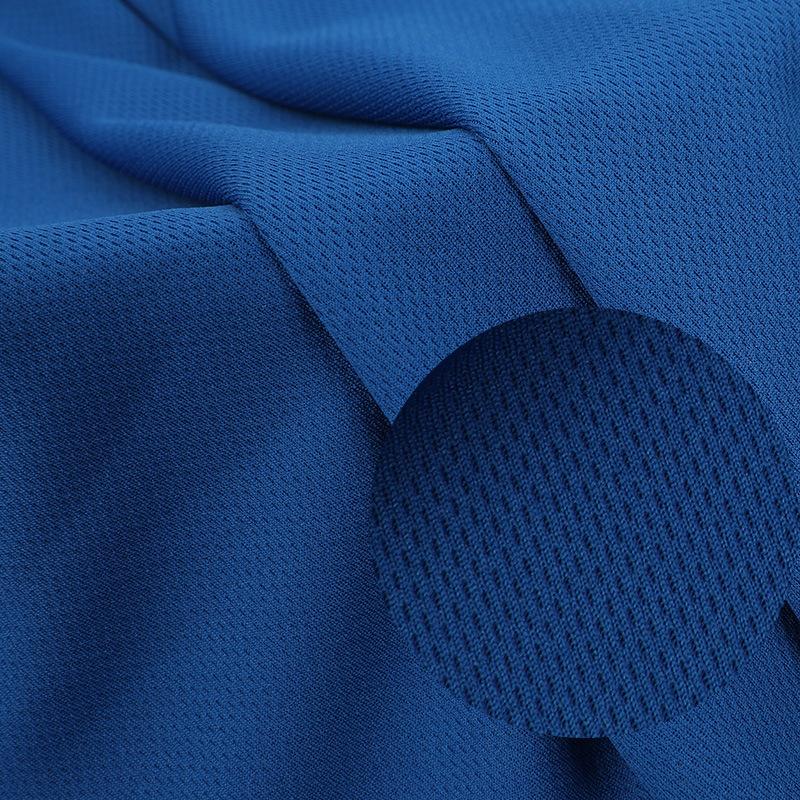 LIANGSHENGDA Vải lưới Vải mắt chim 75d đầy đủ polyester một mặt vải dệt kim 120g vải nhanh khô vải m