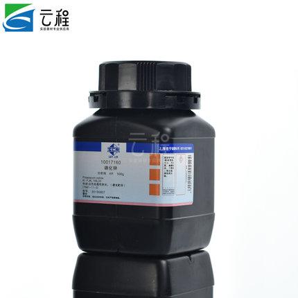 Thuốc thử  Thuốc thử hóa học Sinopharm kali iodide phân tích tinh khiết AR 500g (kiểu Thượng Hải) hà