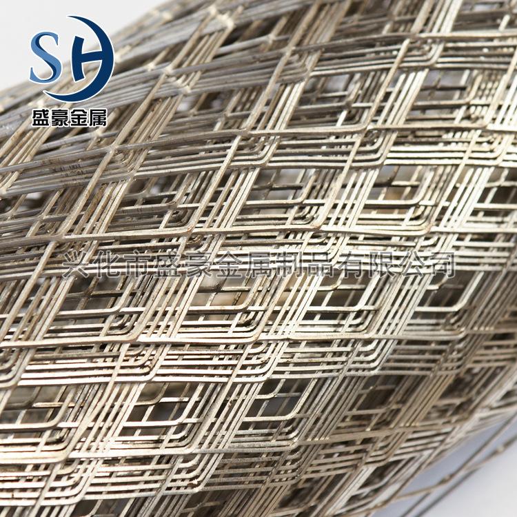 SHENGHAO Lưới kim loại Được thiết kế để xây dựng lưới kim loại mở rộng, lưới hàng rào thép, lưới mở