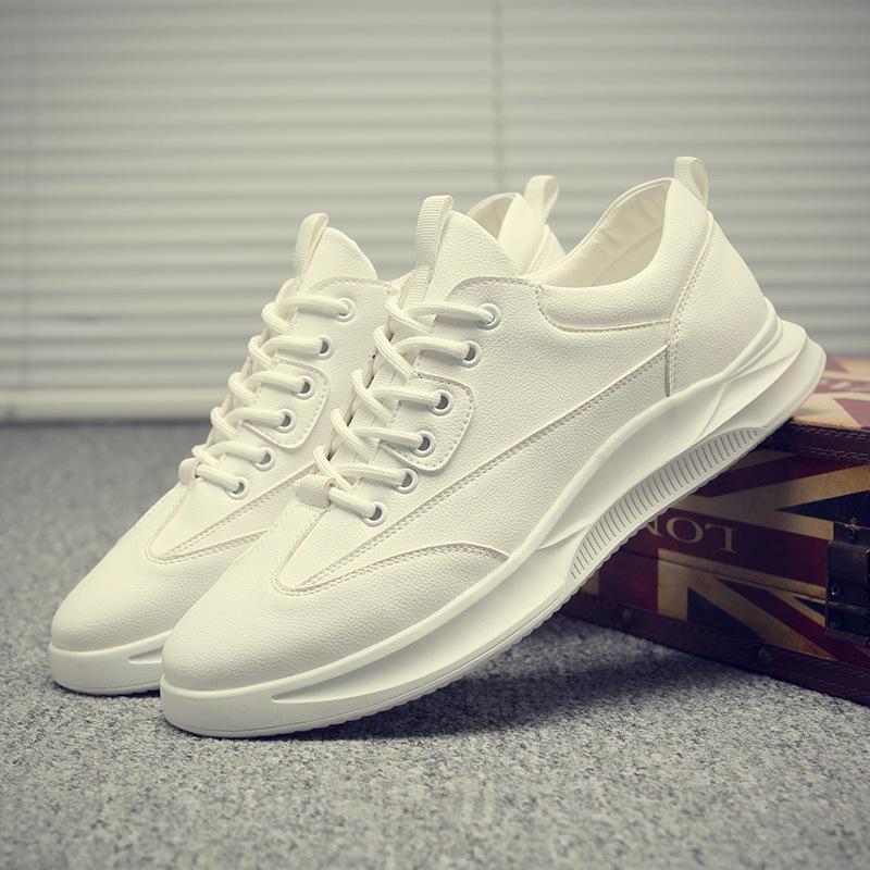 MOBEI Giày Sneaker / Giày trượt ván Giày nam mùa xuân 2020 Giày trắng mới cho nam Xu hướng bình thườ