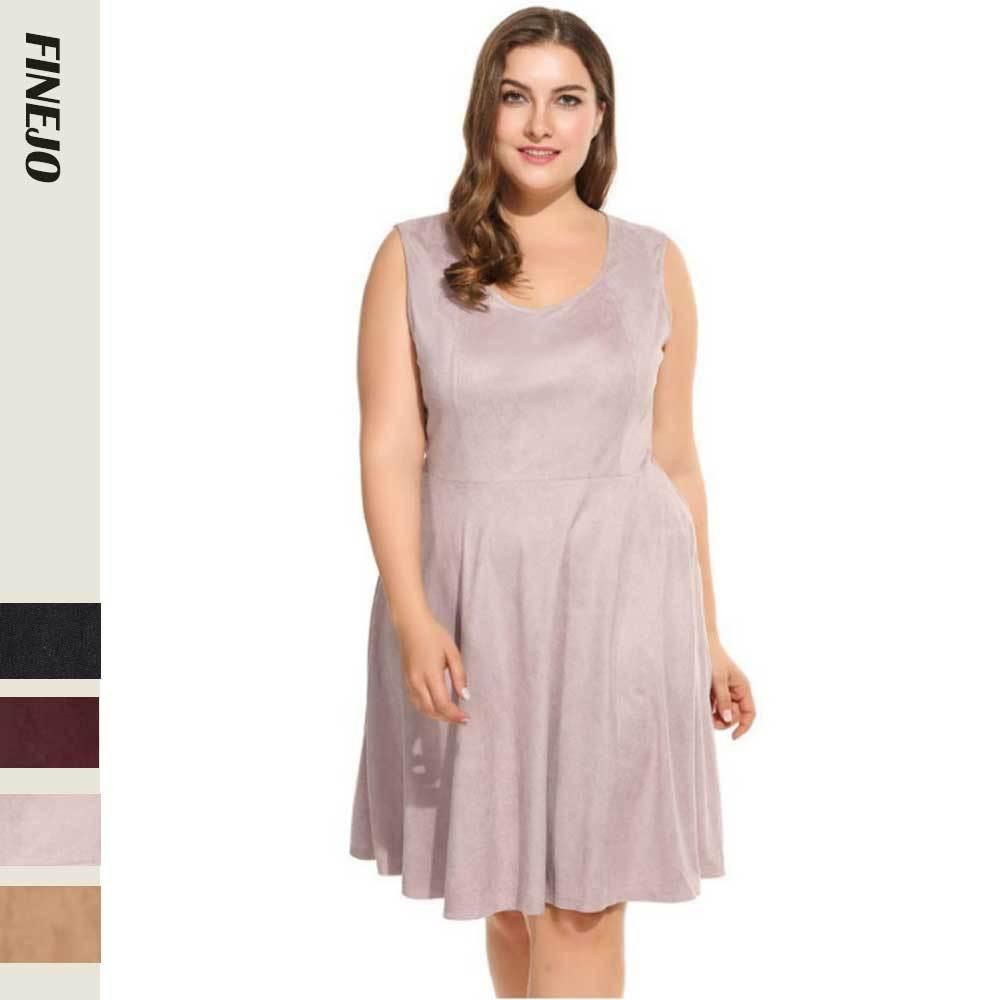 FENZHE Váy Quần áo xuyên châu Âu và Mỹ cộng với size quần áo nữ 2019 họa tiết mùa hè thời trang cổ t