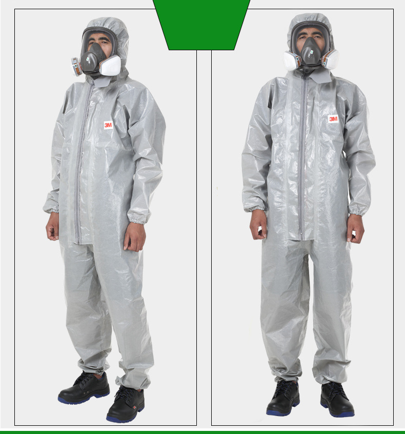 Trang phục bảo hộ 3M emergency 4570 one piece hooded protective clothing, dust-proof, electrostatic