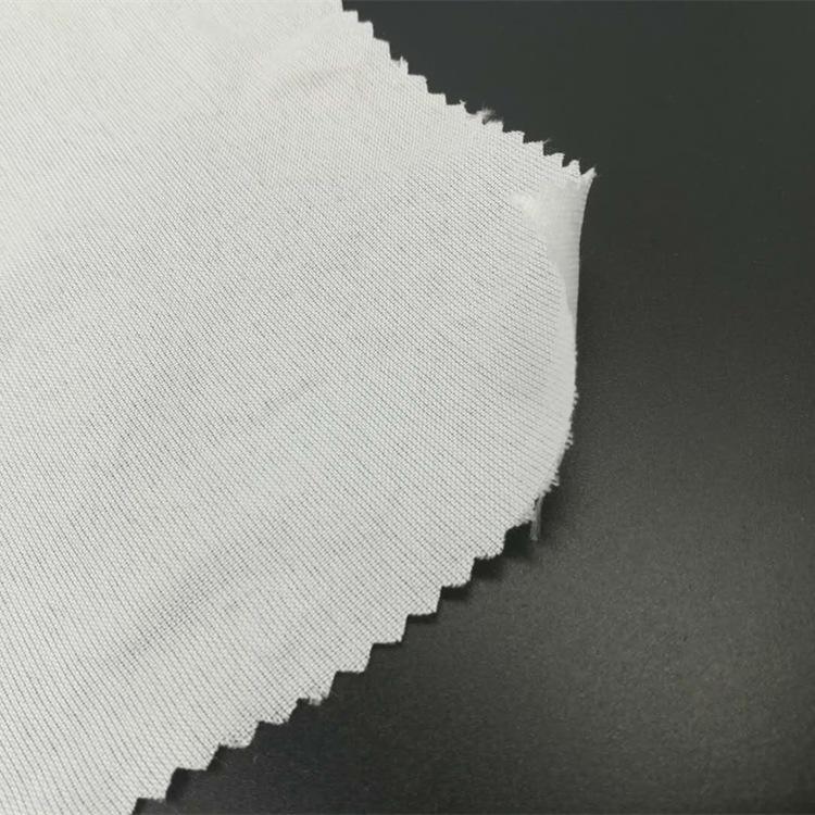 Vải mộc sợi hoá học Chun Yafang lót đầy đủ polyester màu xám vải hóa chất sợi vải trắng nhà dệt lót