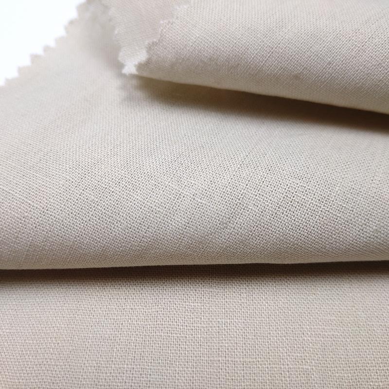 Vải Cotton pha Các nhà sản xuất cung cấp 15 * 15 54 * 52 vải lanh cotton nhuộm sợi dọc và sợi ngang