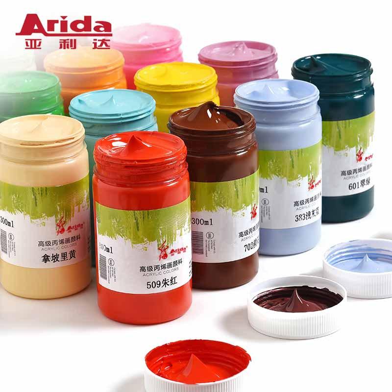 Arida Đồ mỹ nghệ Nhà máy trực tiếp bán yalida acrylic sơn tường sơn sắc tố sinh viên mới bắt đầu tự