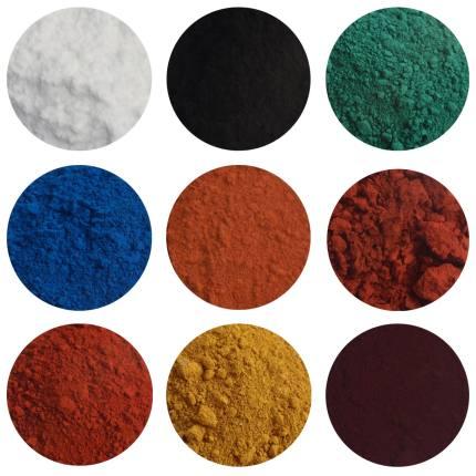 Bột màu vô cơ  Titanium dioxide sắt oxit sắc tố, xi măng màu terrazzo sắc tố sắt đỏ sắt đen sắt màu