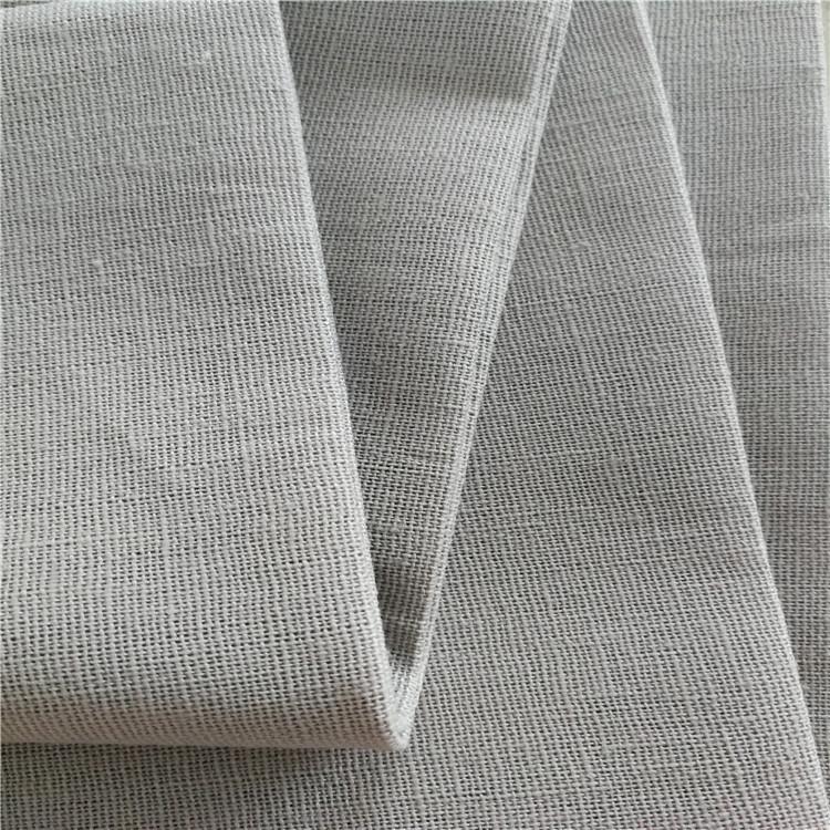XINSHIJI Vải Hemp mộc Nhà máy Outlet Vải lanh Vải lanh In vải lanh Xám Vải nền Vải thủ công Dệt may