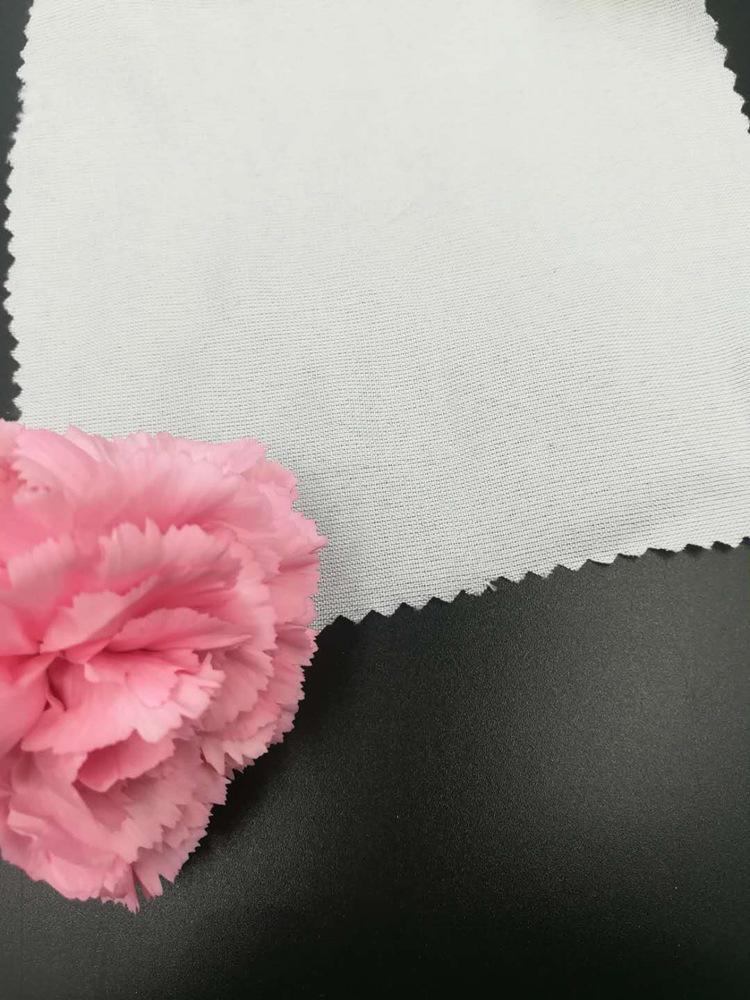 XINGHUA Vải mộc sợi hoá học Chunya dệt lót đầy đủ polyester màu xám vải hóa chất vải trắng vải dệt n