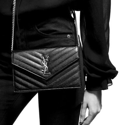 YSL Túi xách nữ thời trang  YSL / Saint Laurent [trước 30 ngày] túi của phụ nữ MONOGRAM túi phong bì