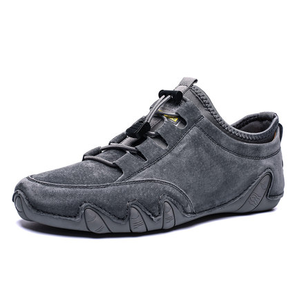 Giày mọi đế thấp Mùa xuân 2020 bộ giày mới chân thấp giúp giày nam Peas giản dị Giày thời trang Hàn