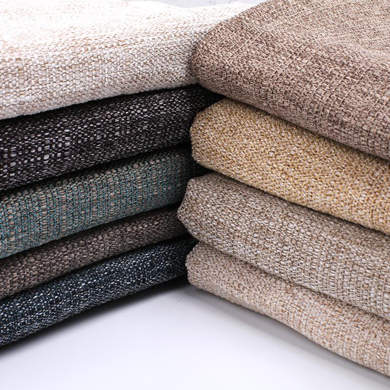 DURUI Vải Linen Vải thô cao cấp thô màu cotton và vải lanh sofa vải đệm túi mềm DIY vải tại chỗ