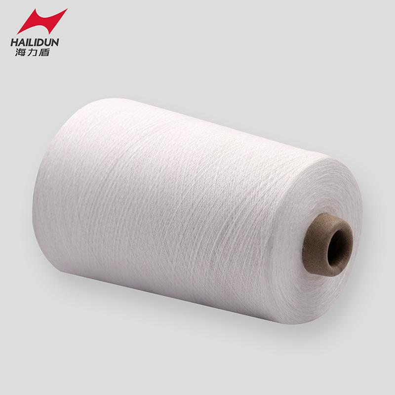 MINGDA Sợi pha , sợi tổng hợp 50% aramid 1313 pha trộn 50% sợi chống cháy viscose sợi găng tay chống