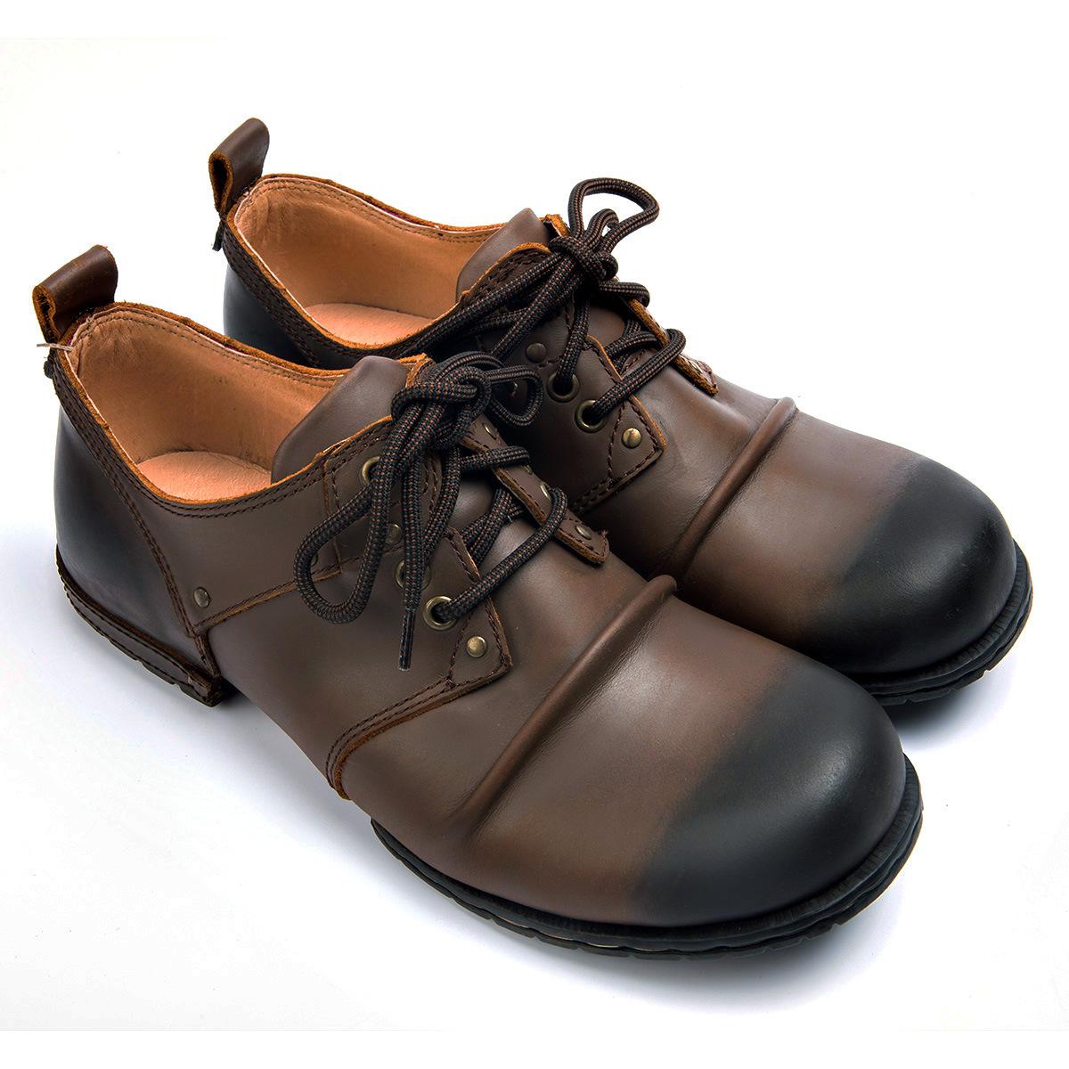 OTTO ZONE thị trường giày nam Mùa thu và mùa đông giày công cụ xuyên biên giới Giày nam Martin ủng n