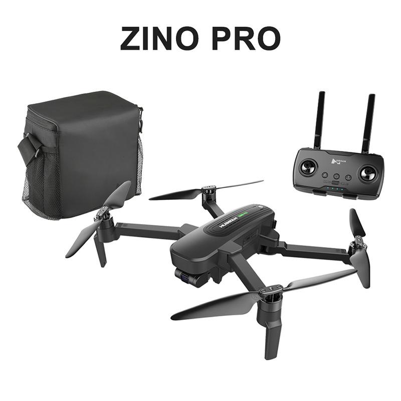 Habson Máy bay không người lái HUBSAN ZINOPro Có thể gập lại UAV Portable Dual Electric Triaxial Ổn
