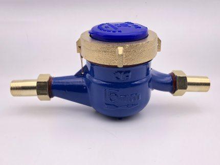 KAPRO  Đồng hồ nước  6 Bàn sương mù chống đóng băng loại khô hộ gia đình chống nước kỹ thuật số DN15