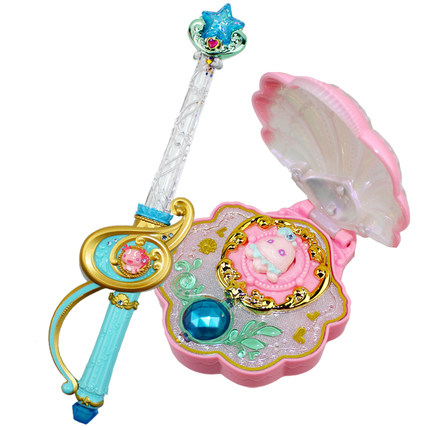 Đồ chơi phát sáng  Laraba Lala Little Magic Fairy Magic Sea Firefighting Toy Heart Diamond Love Mag