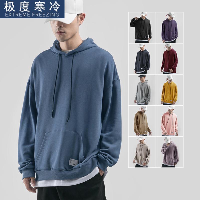 EXTREME FREEZING Sweater (Áo nỉ chui đầu) Quần áo nam cực lạnh của Nhật Bản cộng với áo len nhung na
