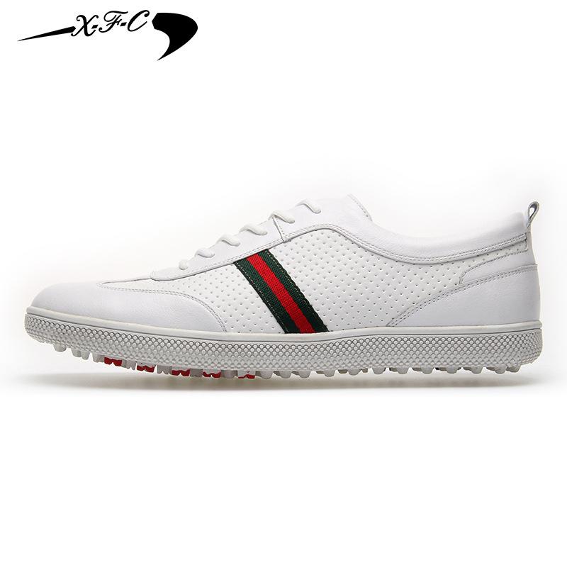 X·F·C Giày lười / giày mọi đế cao Bán hàng trực tiếp XFC Xin phong cách giày golf nam nhẹ mềm thoáng