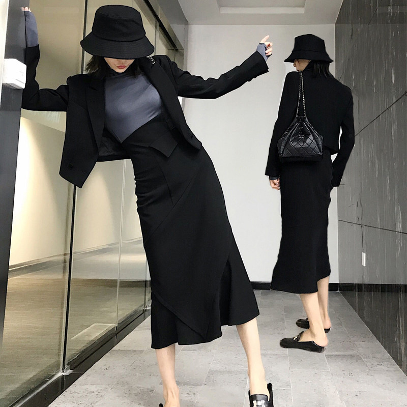 Đồ Suits 2020 mẫu đầu xuân ol công nhân văn phòng chuyên nghiệp mặc khí chất nữ thần quần áo cao lạn
