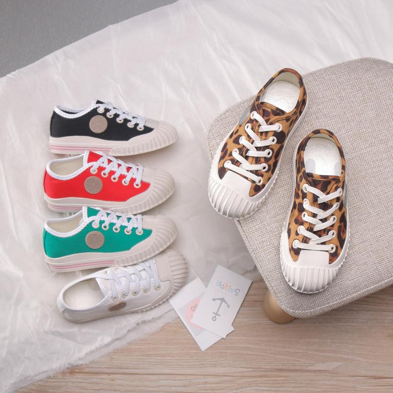 LMDZ giày vải Giày xuân hè 2019 và giày vải mới thoải mái cho trẻ em giày đế mềm thời trang Giày trẻ