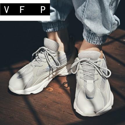 Giày thể thao chạy bộ vải lưới thoáng khí nhẹ nhàng