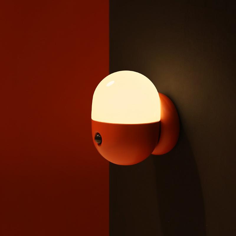MUID Đèn điện, đèn sạc viên nang đêm thông minh phòng ngủ cho bé ăn bảo vệ mắt đầu giường từ tính dẫ