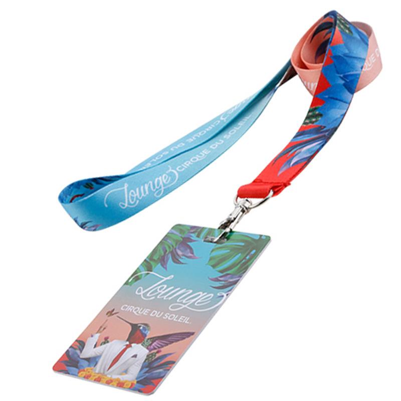 LIYUNA dây đeo Tùy chỉnh polyester chuyển nhiệt dây buộc jacquard dây nylon màn hình lụa điện thoại