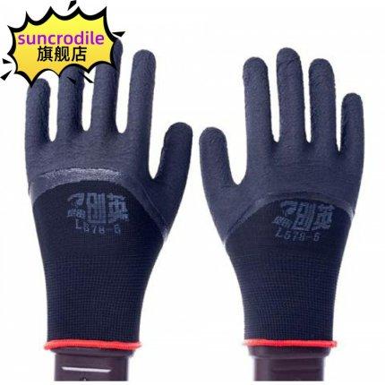 SUNCRODILE  Đồ dùng gia dụng  Găng tay bảo hộ lao động chống mài mòn L578 xốp mỏng nam nữ bảo vệ ca
