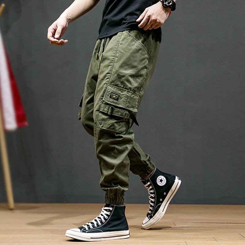 WE WILL ROCK YOU Quần Casual Quần âu mới cho nam mùa thu và mùa đông quần nam quần nam xu hướng quần