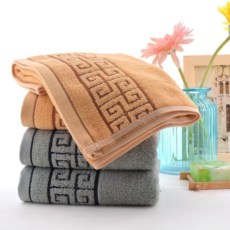 XUEYING Dệt may gia dụng Khăn bông chống bụi nam thấm nước siêu mềm hộ gia đình hộp quà tặng bán buô