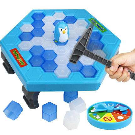 Đồ chơi luyện trí thông minh  Lưu chim cánh cụt phá băng gõ khối băng khai thác khối băng trò chơi t