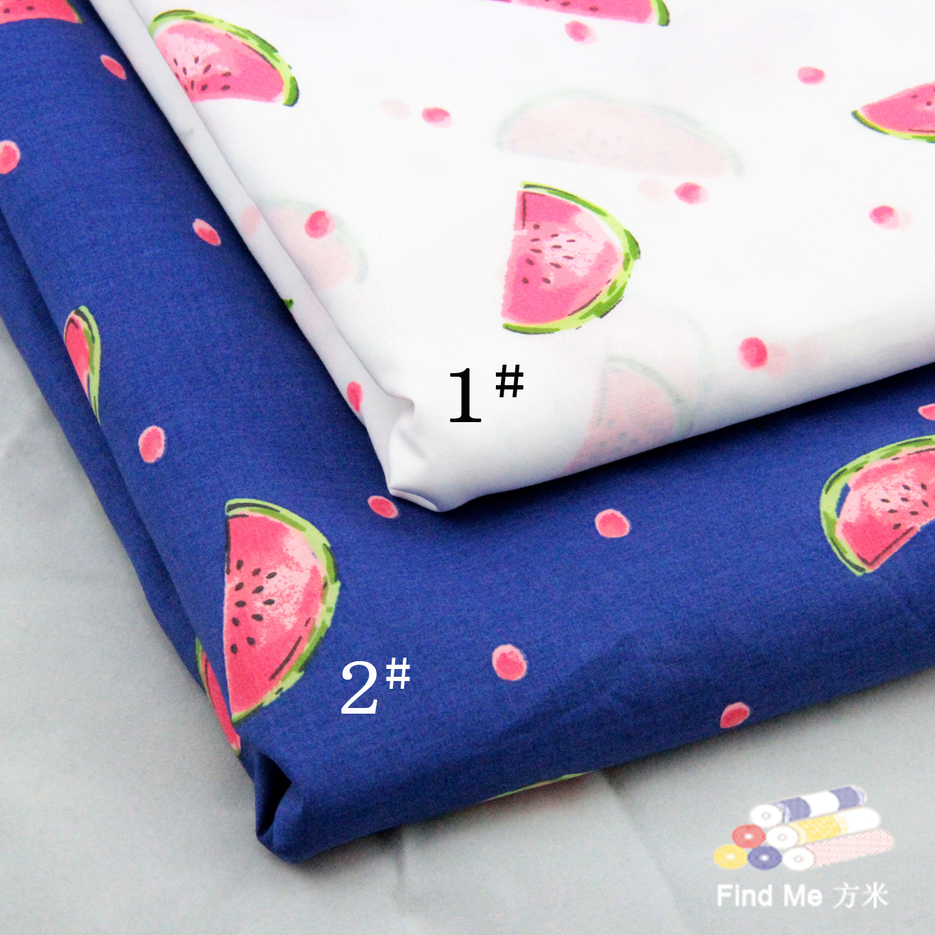 FANGMI Vải dệt may Vải in sẵn vải bông dưa hấu Balan in vải