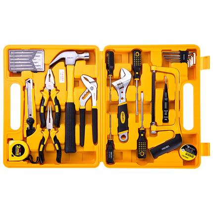 Deli  Dụng cụ tổng hợp  Bộ hộ gia đình hiệu quả, hộp công cụ phần cứng đa chức năng, bảo trì thợ điệ